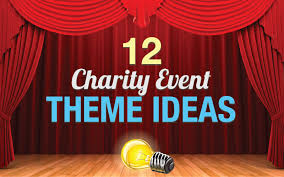 theme ideas 12 charity event theme ideas matched with travel packages part 1