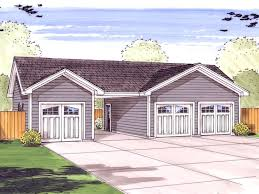 garage plans with carports 3 car garage plan with center carport