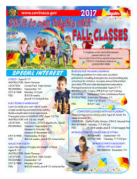 classes for youth and adults city of covina california