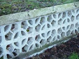 dundalk newry road perforated concrete block garden wall u2026 flickr