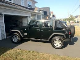 black jeep ace family black forest green jk s jeep wrangler forum