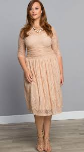 plus size lace cocktail dress pluslook eu collection