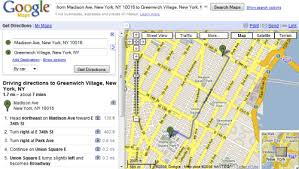 maps directions more options for printing directions in maps