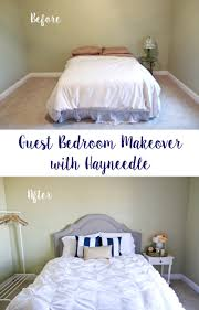 guest bedroom makeover with hayneedle sandyalamode