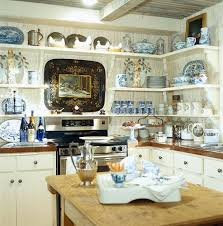 Blue And White Kitchen 441 Best My Painted Country Kitchen Images On Pinterest Home