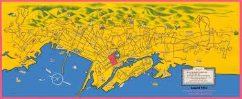Downtown San Francisco Map by Maps Ac Transit