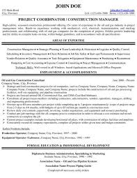 Sample Resume Project Manager Bunch Ideas Of Sample Resume For Oil And Gas Industry For Layout
