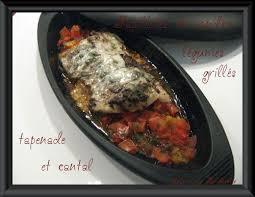 cuisiner le sandre papillotes de sandre légumes grillés olivade et cantal la cuisine