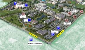University Of Miami Campus Map by Main Campus To Host Nsu Commencements U2013 Traffic Parking Impacted