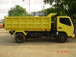 mitsubishi fuso dump truck pemuda baja