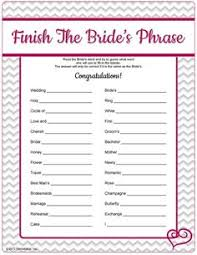 interactive bridal shower special wednesday top 5 free printable bridal shower