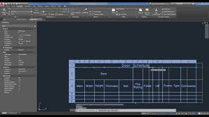 back to basics introduction to tables in autocad lt 2017 youtube