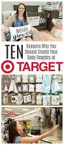 10 reasons why target is the place to create a baby registry