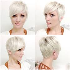 side and front view short pixie haircuts 15 chic pixie haircuts which one suits you best platinum pixie
