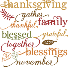 words set svg cut files for scrapbooking thanksgiving words clipart