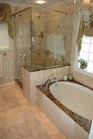 shower remodel ideas walkin shower with rebath adara granite wall