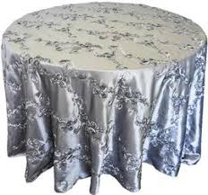 silver lace table overlay table linens