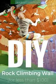diy rock climbing wall for under 100 garage gym reviews