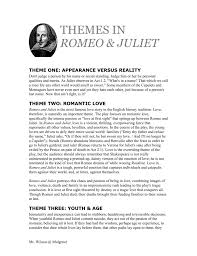 themes of youth in romeo and juliet theme six balance moderation