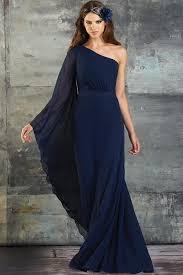 20 navy blue cocktail bridesmaid dresses sleeved dress shoulder