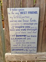 10th anniversary gift 10th anniversary gift tenth anniversary gift wedding vows sign