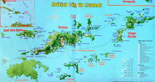Map Of The Caribbean Islands by 2012 British Virgin Islands