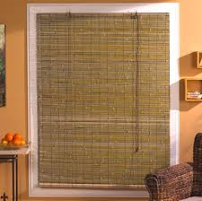 home decoration full width bamboo shades for large window of