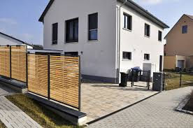 G Stig Haus Kaufen Sichtschutzzaun Holz Metall Günstig Lärche Höhe Grau Weiß Aus Holz