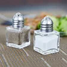 Cute Salt And Pepper Shakers by 5 Oz Mini Salt And Pepper Shaker 24 Case