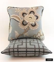 schumacher celerie kemble bleecker pillows in twilight