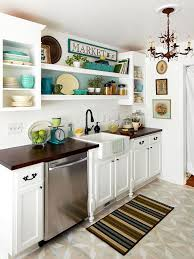 small kitchen decorating ideas upper cabinets kitchens and herbs