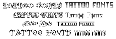 tattoo tattoo font and gothic