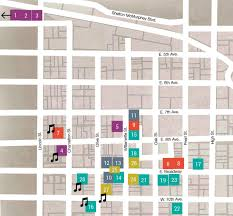 Art Institute Of Chicago Map by First Friday Artwalk Lane Arts Council