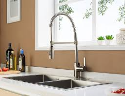 Narrowed I Shaped Kitchen Enzo Rodi Erf7209251ap 10 Modern Commercial Kitchen Faucet With
