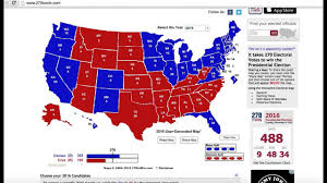 2016 Presidential Map U S Presidential Election 2016 Prediction Youtube