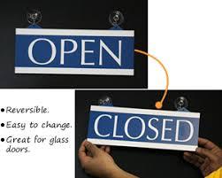 glass door signs open and closed signs open closed door signs mydoorsign