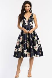 fit and flare dress women s fit flare dresses camillia floral flare midi dress a