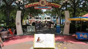 Universal Studios Orlando Interactive Map by Curious George Goes To Town At Universal Studios Florida