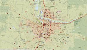 Portland Zip Code Map by Where U0027s George Currency Tracking Project