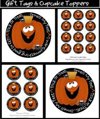 halloween gift tags it u0027s written on the wall lots of fabulous halloween games for old