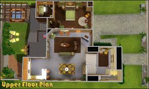 the sims 3 modern house floor plans