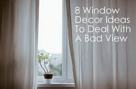 8 window decor ideas to deal with a bad view