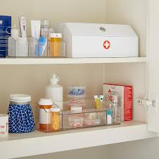 In Wall Security Cabinet Prescription Security Cabinet The Container Store