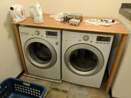 table top washer dryer washer building countertop over washer and dryer diy laundry room