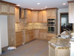 Rustic Birch Kitchen Cabinets by Alder Kitchen Cabinets Inspirations And Wood Images Fireplace