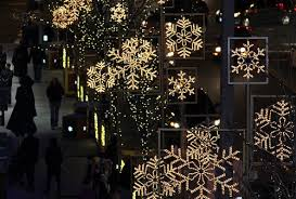 snowflake lights pictures photos and images for