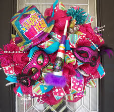 New Year S Front Door Decorations by New Year U0027s Wreaths Shopswell