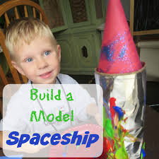 build a model spaceship craft