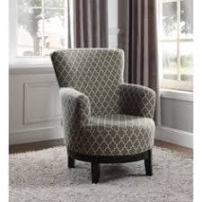 Chevron Accent Chair Swivel Accent Chair With Blue And White Chevron Pattern Lisa U0027s