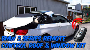 bmw 3 series e93 convertible bmw 3 series e93 convertible remote roof open kit